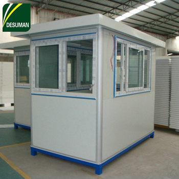 Desuman Hot Sale Prefabricated Guard House,Security Guard Booths