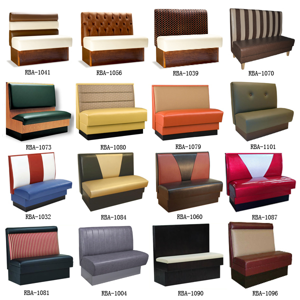 We have many more designs of booth sofas available, please check as ...