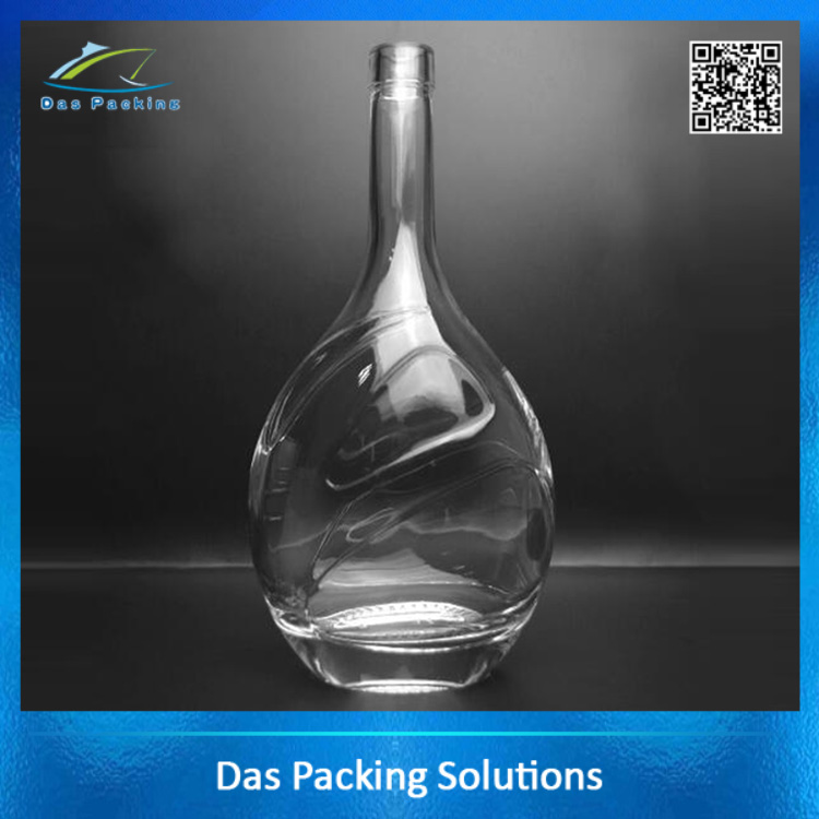 Wholesale liquor Vodka drinking Glass Bottle Factory price