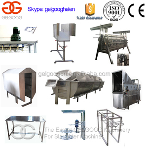 Capacity of 300 bph Duck Poultry Slaughtering Processing Equipment Chicken Slaughter Line Price
