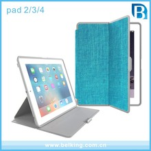 Sleeping Functional Folio Leather Smart Tablet Case For iPad 2/3/4 PU Cover