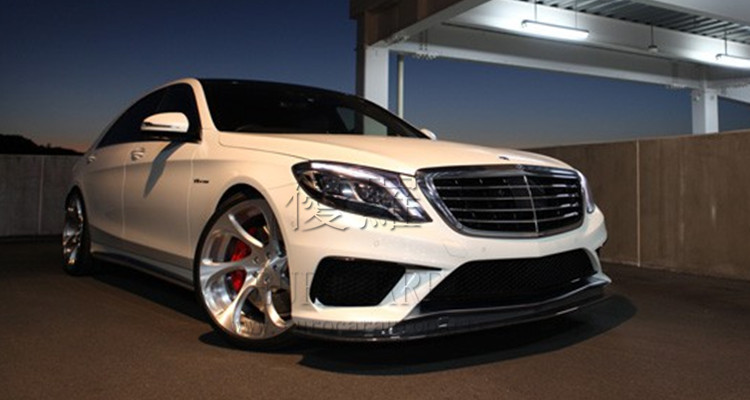 W222 carbon fiber part fit for W222 S63 S65 to KohlenS-style carbon fbier for S65 S63 body kits