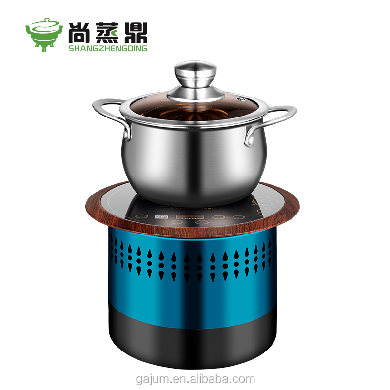 Commercial built-in table top electric braise cooker for fast food restaurant use