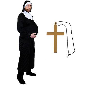 Sacerdote Y Monja Sexy Traje Religiosa Divertido Fantasía Cosplay Vestido Mujer Mens Trajes Se059 Buy Disfrazdisfraz De Monjadisfraz De Mujer