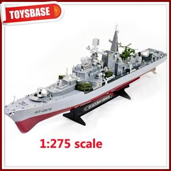 Ht 2879a 1:275 Remote Radio Control Military Rc Boat Destroyer ...