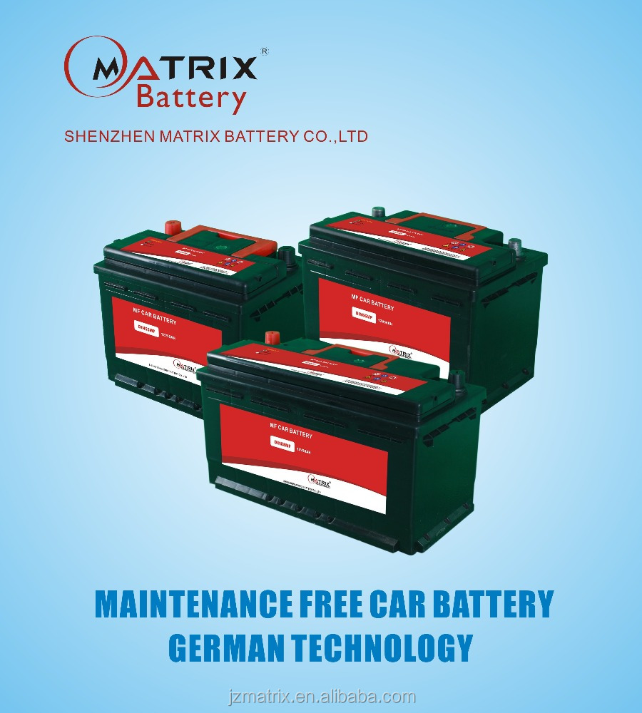 China best quality low price automotive battery 12v 36ah-200ah factory