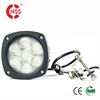 Full application magnetic 4.3 inch round 12V LED work light 35W 5000lm