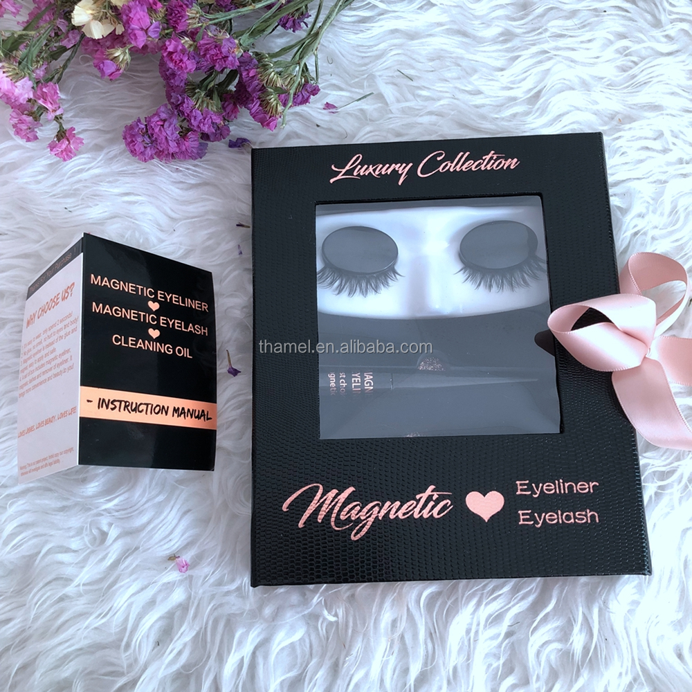 d39f8556343 Thamel Lashes Manufacture Luxury Collection Private Label Waterproof Magnetic  Eyelashes And Cleaning Oil /Magneitc eyeliner