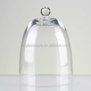 Fancy Mini Glass Dome Fresh Onion Keeper Cake Cheese Glass