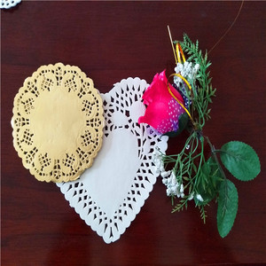 DIY paper doilies decoration with art ideas of angel craft