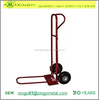 Heavy Duty P-Handle Hand Truck with 10-Inch Pneumatics and 18-Inch ToePlate