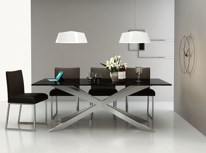 Modern Furniture Factory factory supply marble top dining table modern furniture china home