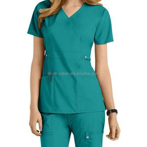 Women Fashion Nurse Uniform / Medical Scrubs Suit