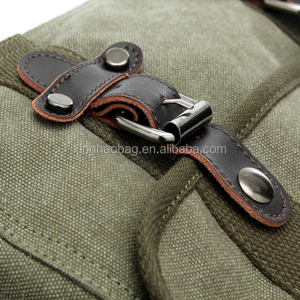 Custom Waterproof Canvas Side Bags For Men High Quality Men's ...