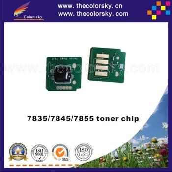 (TY-X7525TME) toner cartridge reset chip for Xerox WorkCentre WC7525 WC7530 WC7535 WC7545 WC7556 WC78303 WC7835 kcmy 26k/15k