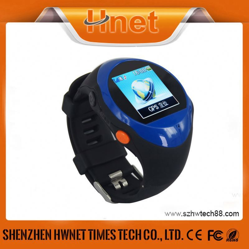 PG22 GPS Tracking Location Remote Monitoring Smart Wrist Watch Personal GPS Watch Running