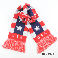 TOROS Soccer Fan Knitted Factory Custom Football Scarf