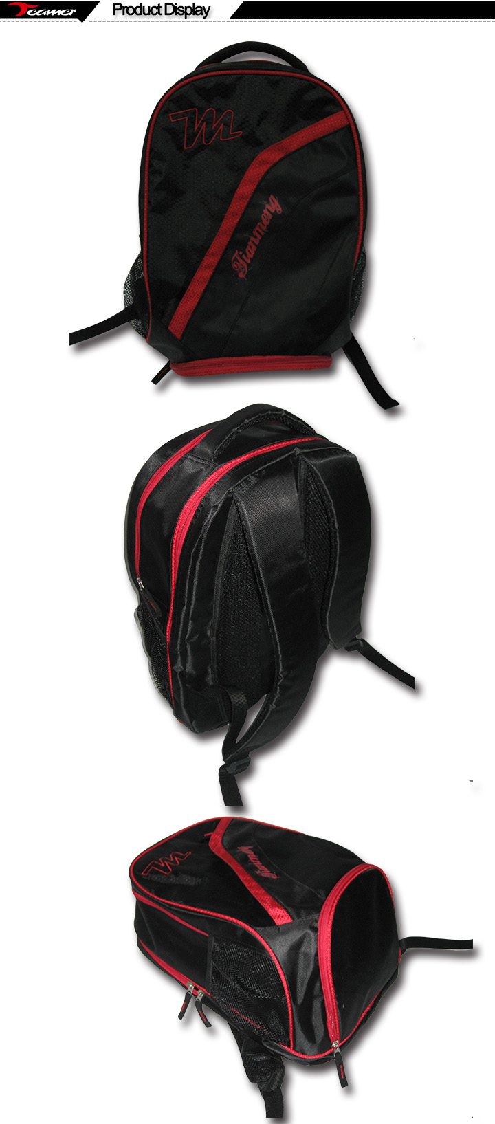 potable basketball sport bag with shoe compartment sports