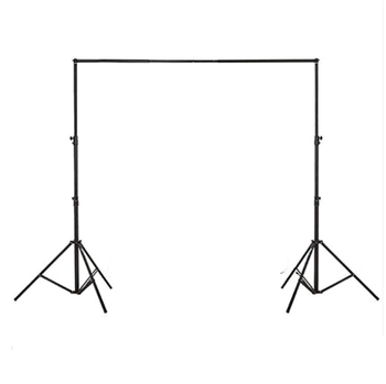 Photographic equipment 3x3m portable photography backdrop stand with telescopic crossbar