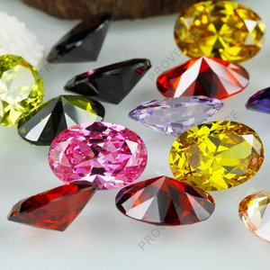 Oval cubic zirconia birthstones AAAAA quality 0.9mm to 100mm cz loose gemstone for jewelry making