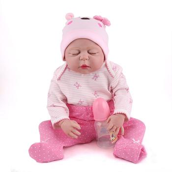 Reborn Baby Dolls 22 Inch Full Vinyl Toys For Kids Adora Cheap Babies Doll Factory