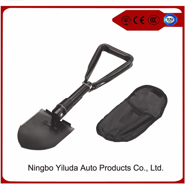 Foldable Camping Hiking Car Shovel,Large size foldable shovel