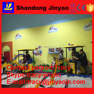 Toy vehicle Type electric excavator indoor games, child excavator