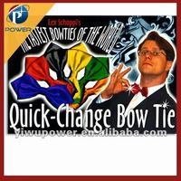 Quick change bow tie magic tricks