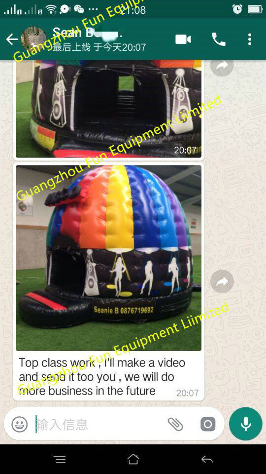 2017 Factory Price Bounce Houses Jumping Bouncy Castles Inflatable Pineapple Bounce Unit