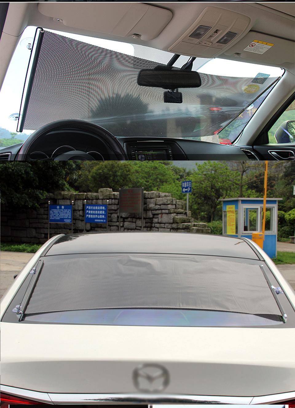 Loen Hot Koop Custom Size Pvc Voor Rear Window Zonnescherm Auto ...
