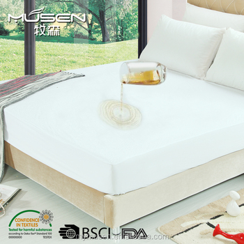 Pleasant Premium Hypoallergenic Waterproof Mattress Protector Cover Vinyl Free Buy Mattress Cover Waterproof Mattress Cover Waterproof Mattress Protector Caraccident5 Cool Chair Designs And Ideas Caraccident5Info