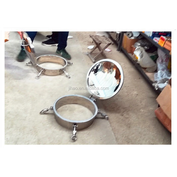 GHO High Quality Sanitary Stainless Steel Circular Manhole Cover With Pressure