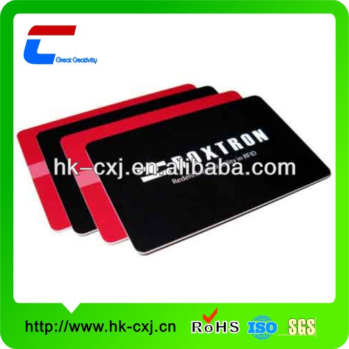 1mm 2mm thick plastic business card