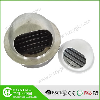 4 6 Adjustable Stainless Steel Fan Air Diffuser Ceiling Air Ventilation Extractor Circular Air Outlet Buy Adjustable Stainless Steel Air