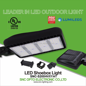 UL CUL Certified 347V 200W LED Parking Lot Light for Canada Market