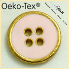 pink fancy alloy button for girl clothes