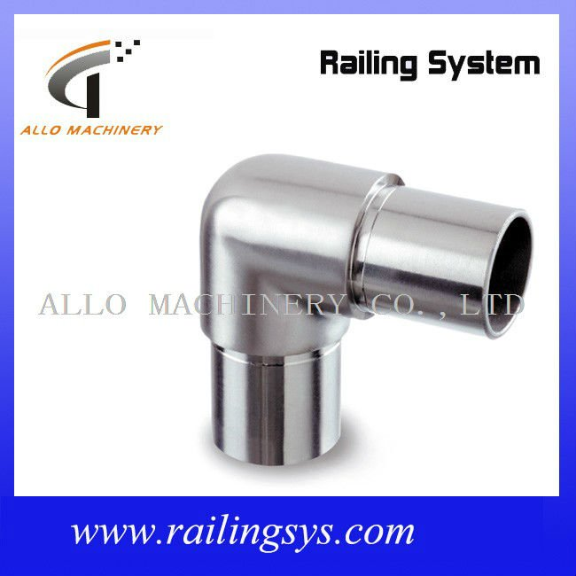 Tube connector way aluminum degree elbow fittings