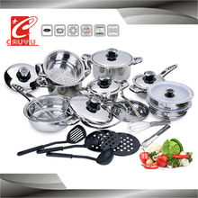 stainless steel capsule bottom stainless steel waterless cookware