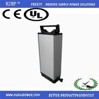 2015 CE/UL/FCC 36V 20ah 500W lithium electric bike battery for motor bike