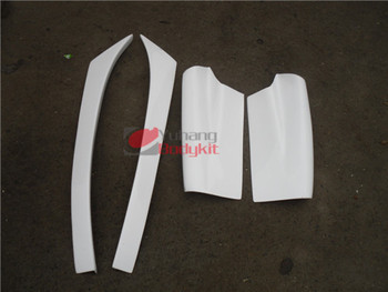 High Quality FRP Glass Fiber Bodykit For RX7 FD3S RE-Amemiya Rear Diffuser Addon and Blade