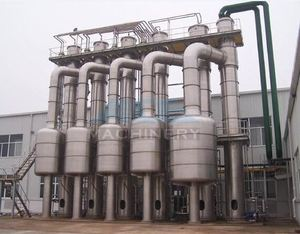 Efficient Water Evaporation Triple Effect Falling Film Thermal Evaporator
