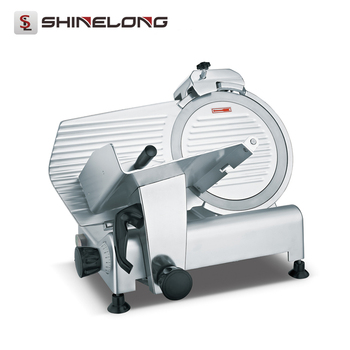Food Meat Processing Machinery Semi-automatic Frozen Meat Slicer Machine