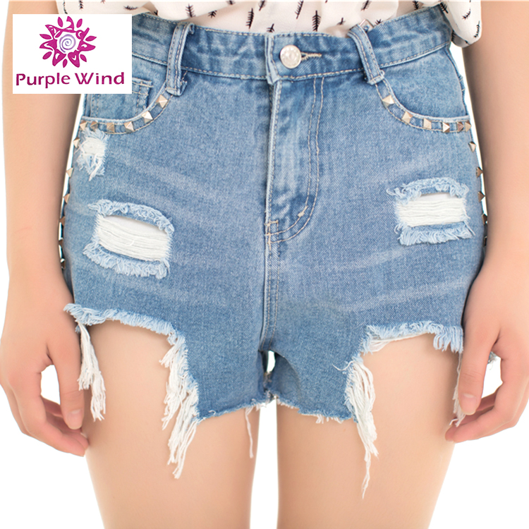 Trade Assurance fashion short jeans for girls
