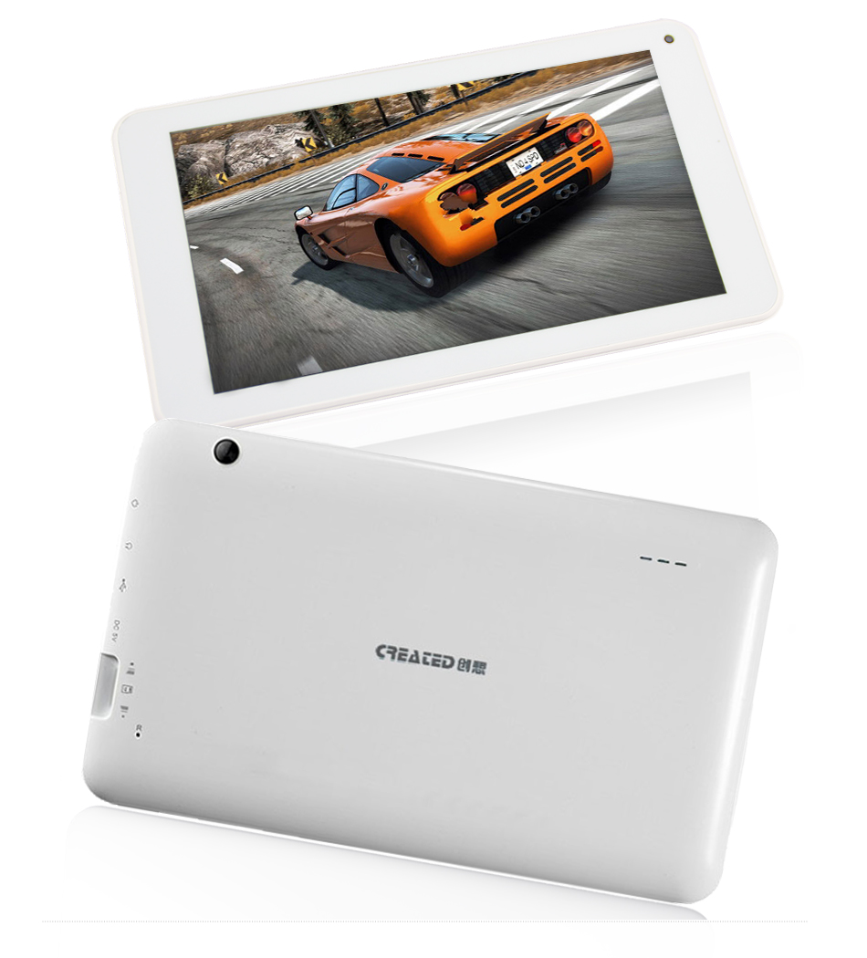 7inch android tablet quad core RK3126 android 4.4 wifi bluetooth 1024*600 IPS screen high quality customise loud speaker tablets
