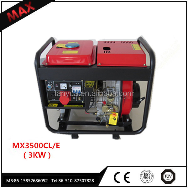 Powerful 3000 watt Recoil Diesel Generator price