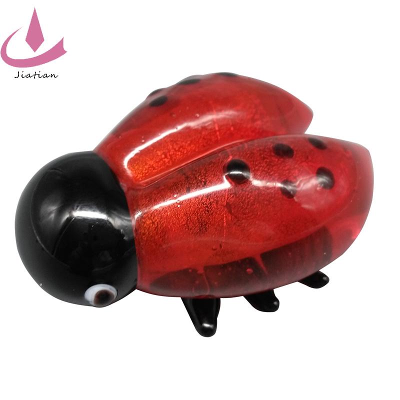 a24dde36ab29 Venta Al Por Mayor Caliente China Proveedor Lampwork Animal Lindo Rojo  Cristal Mariquitas - Buy Cristal Mariquitas,Cristal Animal ...
