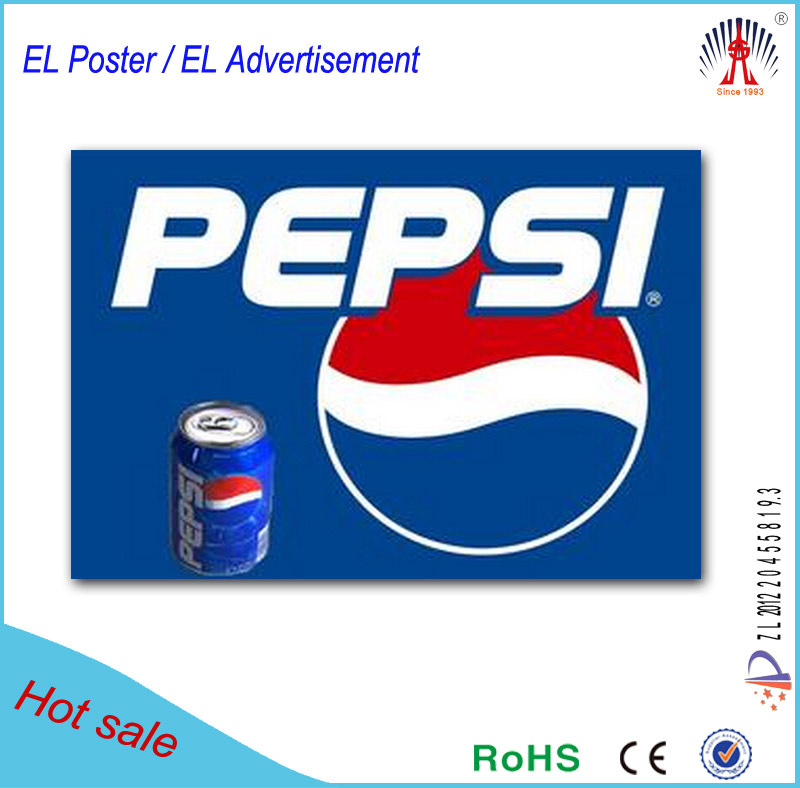 2015 New High Quality El Poster For Advertisement Coca Cola China ...