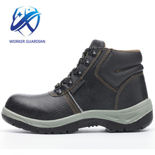 Men Work Supplier 2018 Hot Style Lace Up Security Iron Toe Safety Boots For Kazakhstan