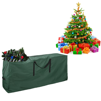 600D Polyester Heavy Duty Extra Large Christmas Tree Storage Bag