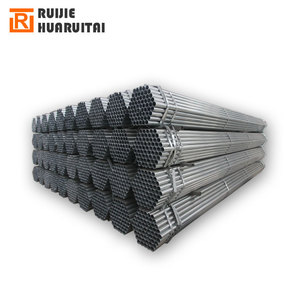 "3/4"" ss400 galvanized steel pipe, round welded steel tube thickness 1.4mm"